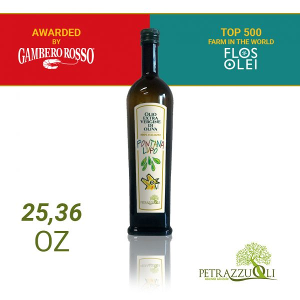 extra virgin olive oil fontana lupo