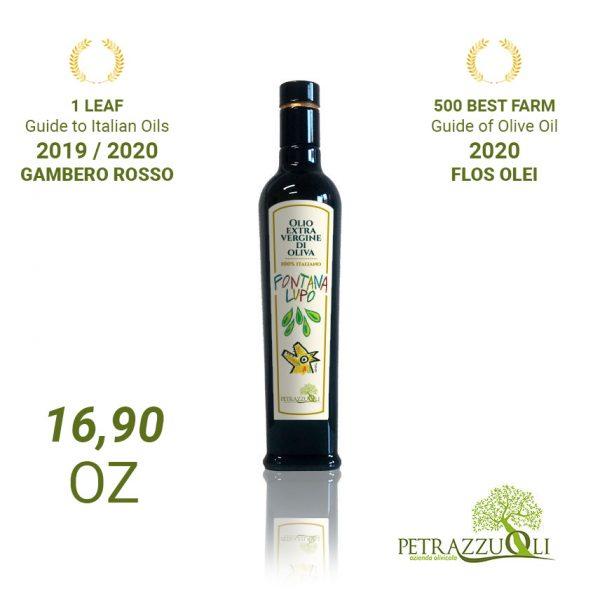 extra virgin olive oil fontana lupo